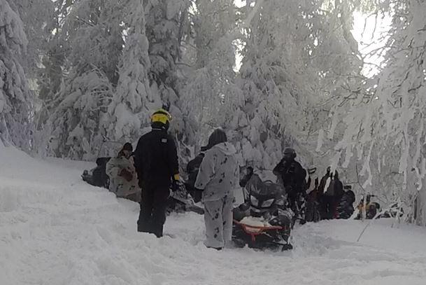 Границы «Таганая» закрыли от собственников снегоходов